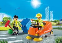 Playmobil: City Life - Street Sweeper (70203)