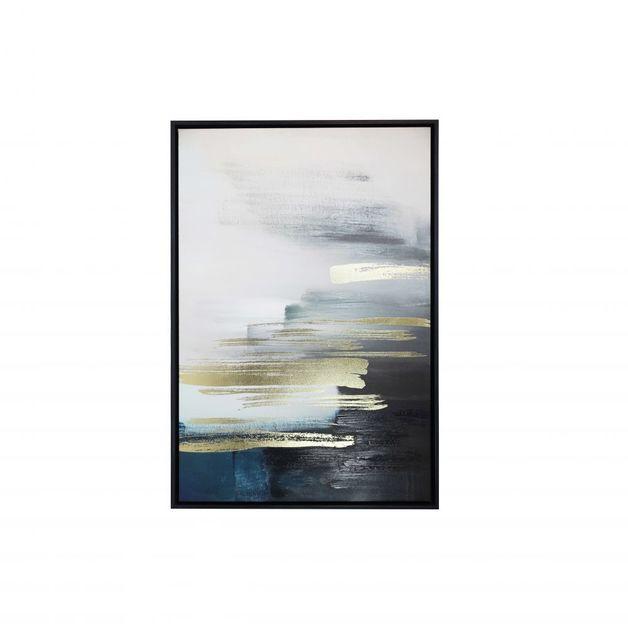 Splosh: Royale Horizon Framed Canvas
