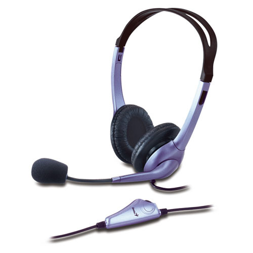 Genius HS-04S Medium Size Headset with Microphone image