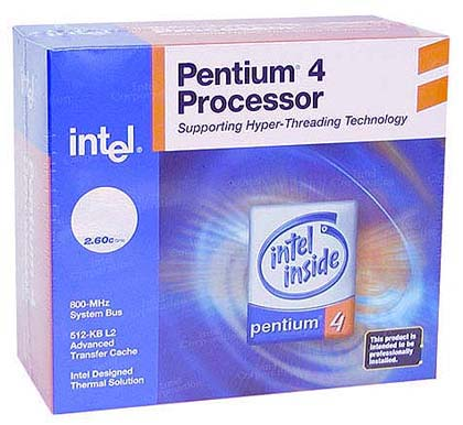 Intel Pentium 4 3.0GHZ 1MB SKT478 800MHZ Retail Box With Fan image