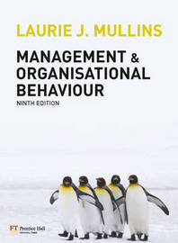 Management and Organisational Behaviour: AND MyLab Access Code by Laurie J. Mullins image
