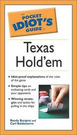 The Pocket Idiot's Guide to Texas Hold'em by Randy Burgess image