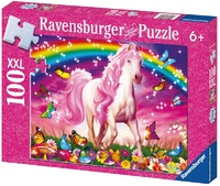 Ravensburger 100 Piece Jigsaw Puzzle - Horse Dream Glitter