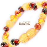 Bambeado Amber Anklet Baby Bud - Mixed Colours