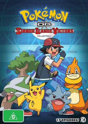 Pokemon Season 13: Sinnoh League Victors - Volume 1 (2 Disc Set) on DVD