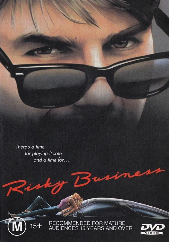 Risky Business on DVD