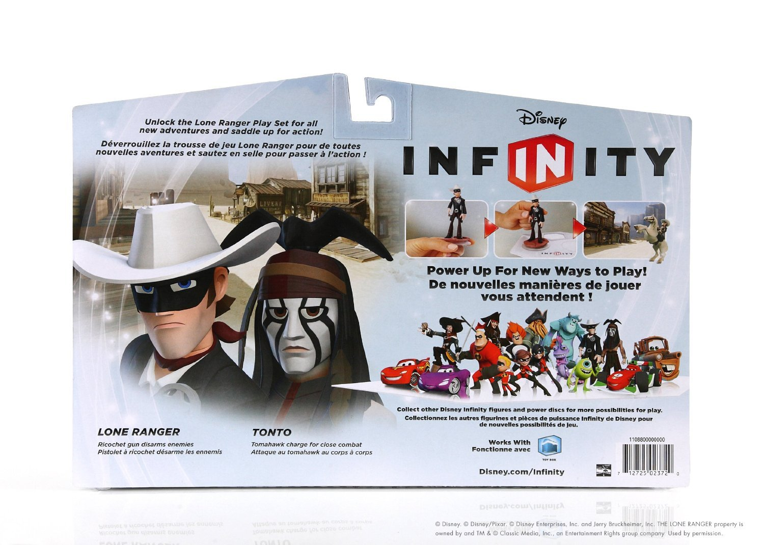 Disney Infinity Playset Pack Lone Ranger Ps3 Xbox 360 Wii U Wii 3ds Buy Now At
