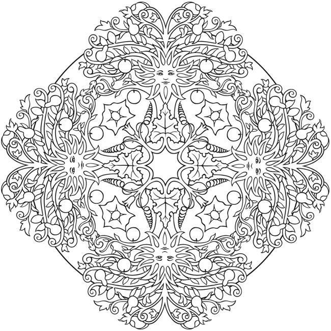 Nature Mandalas Coloring Book | Thaneeya McArdle Book | In ...
