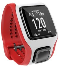TomTom Runner Cardio Watch - White/Red