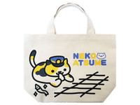 Neko Atsume Mini Tote Bag - Conductor Whiskers