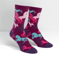Womens - Mythical Unicorns Crew Socks