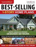 Best-selling 1-story Home Plans by Creative Homeowner