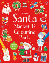 Santa Sticker and Colouring Book by Sam Taplin