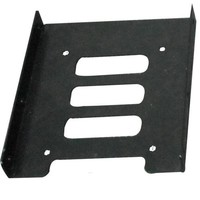"2.5"" HDD/SSD to 3.5"" Tray Convertor - Black"