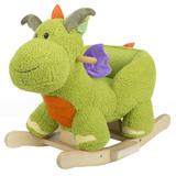 Green Rocking Dinosaur
