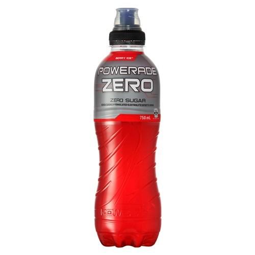 Powerade - Berry Ice Zero 750ml (15 Pack) image