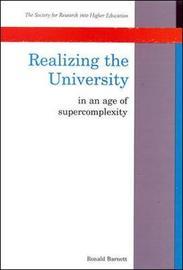 Realizing The University by Ronald Barnett image