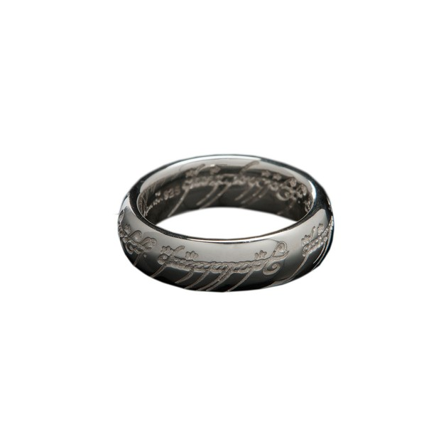 Lord of the Rings: The One Ring by Weta - Size T½, Sterling Silver