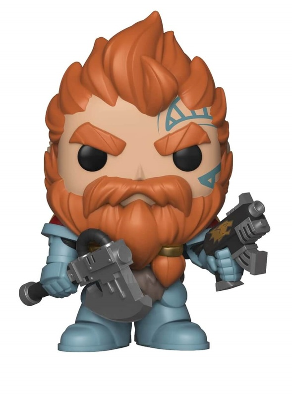 Warhammer 40K - Blood Claw Pack Leader Pop! Vinyl Figure
