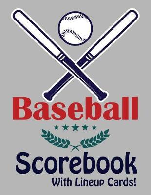 Baseball Scorebook With Lineup Cards by Francis Faria
