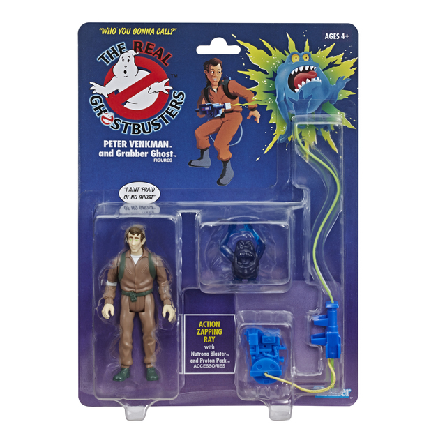 Ghostbusters: Kenner Classics - Peter Venkman and Grabber Ghost