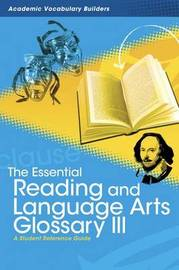 Essential Reading and Language Arts Glossary 3 by Red Brick Learning