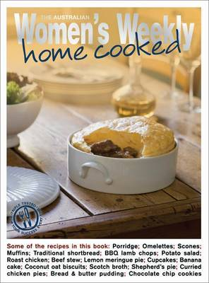 Home Cooked by The Australian Women's Weekly