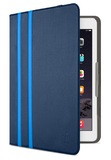 "Belkin: Universal Twin Stripe Folio 8"" - Deep Sea Blue/Marina Blue"
