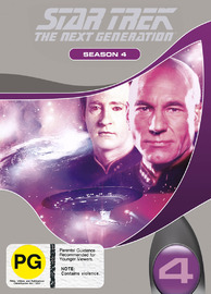 Star Trek: The Next Generation - Season 4 on DVD