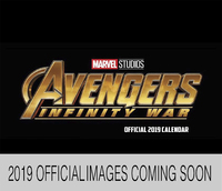 Marvel: Avengers 2019 Boxed Desk Calendar