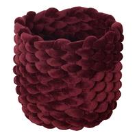 Moxy Velvet Pot Holder (Small) - Burgundy image