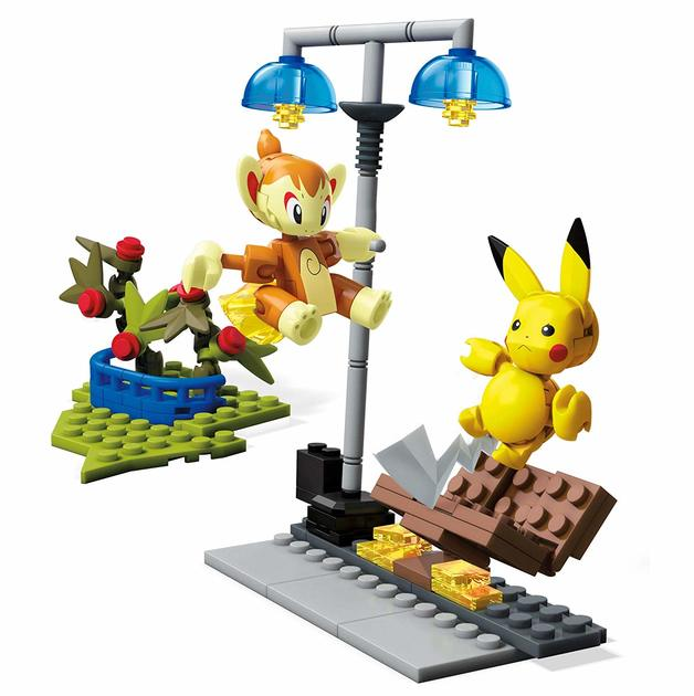 Mega Construx: Pokemon Battle Set - Chimchar vs. Pikachu