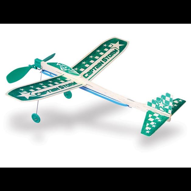 Guillow: Junior Plane - #44 Captain Storm