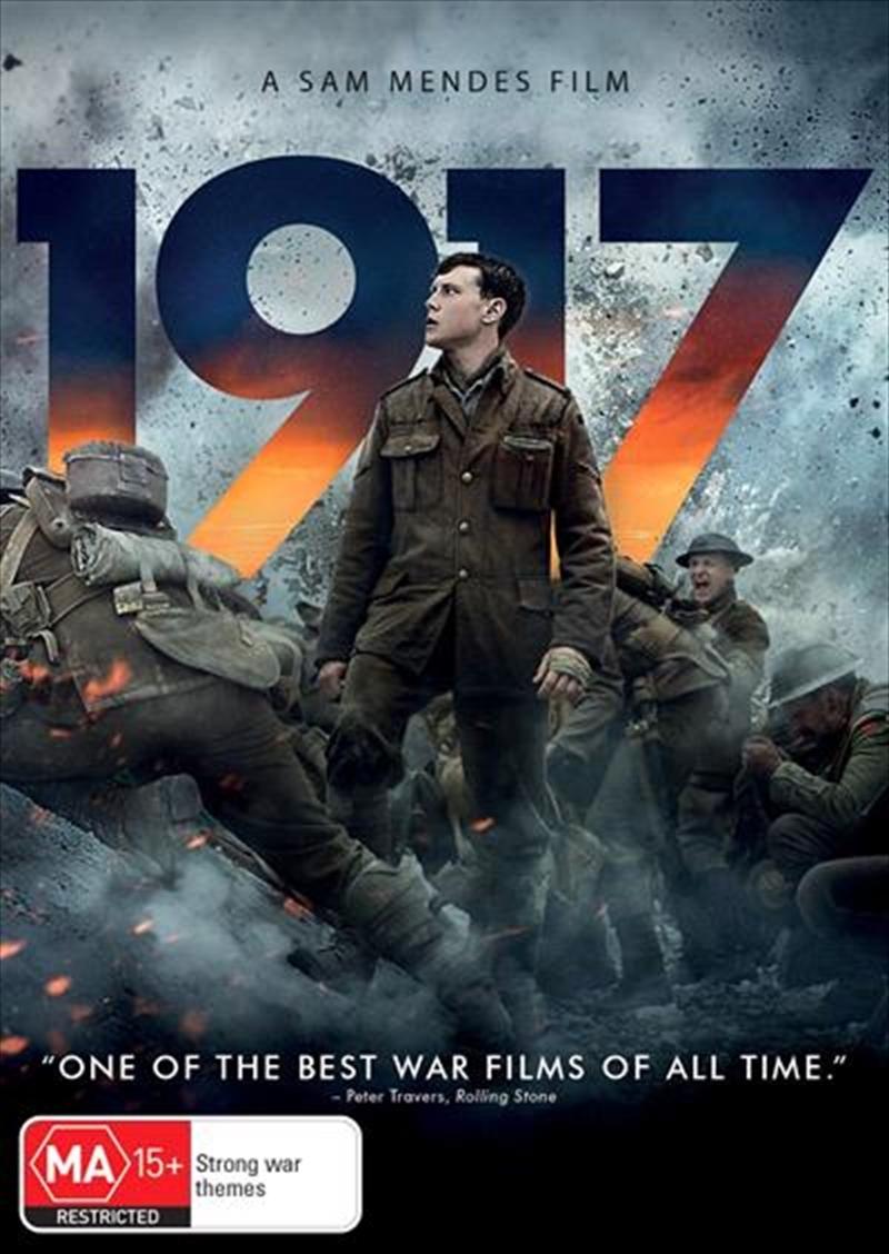 1917 on DVD image