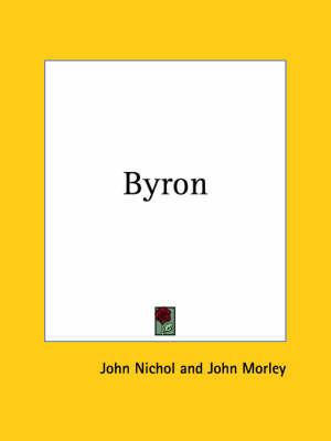 Byron (1908) by Nichol John image