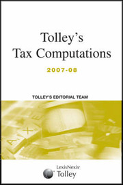 Tolley's Tax Computations: 2007-08 image