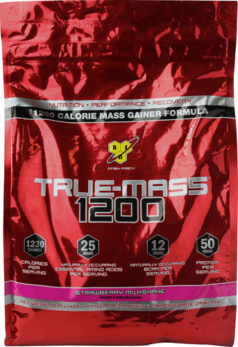 BSN True-Mass 1200 - Strawberry (4.7kg)