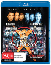 Any Given Sunday on Blu-ray image