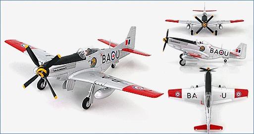 Hobby Master: 1/48 P-51D Mustang #9255/BA-U | at Mighty Ape NZ