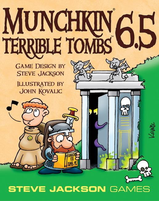 Munchkin: 6.5 Terrible Tombs - Game Expansion image