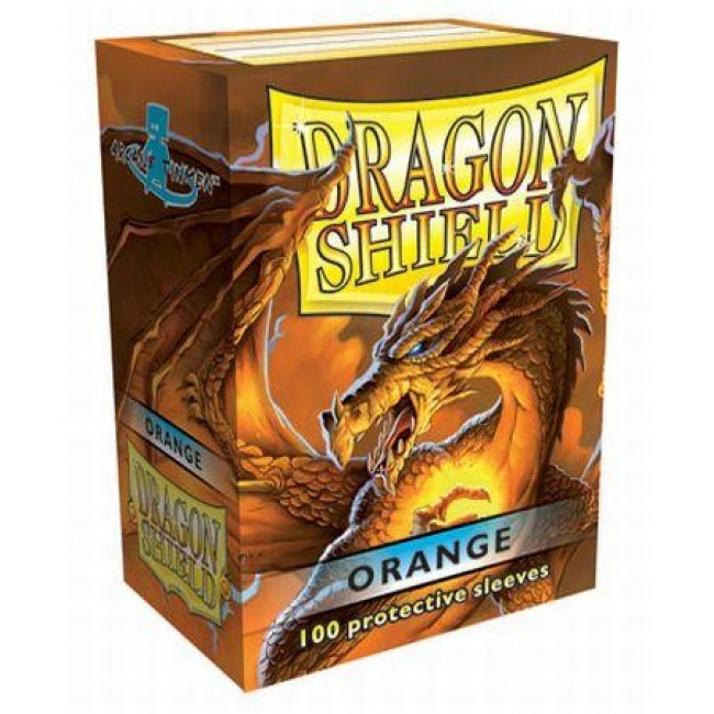 Dragon Shield Orange Card Sleeves image