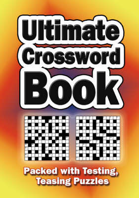 Ultimate Crossword Book image