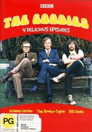 The Goodies - 4 Delicious Episodes (Vol 1) on DVD image