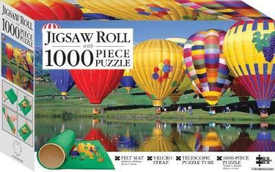 Hinkler: Jigsaw Roll with 1000-Piece Puzzle - Balloon Festival image