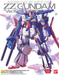 1/100 MG ZZ Gundam Ver.Ka (Premium Decal Ver.) - Model Kit