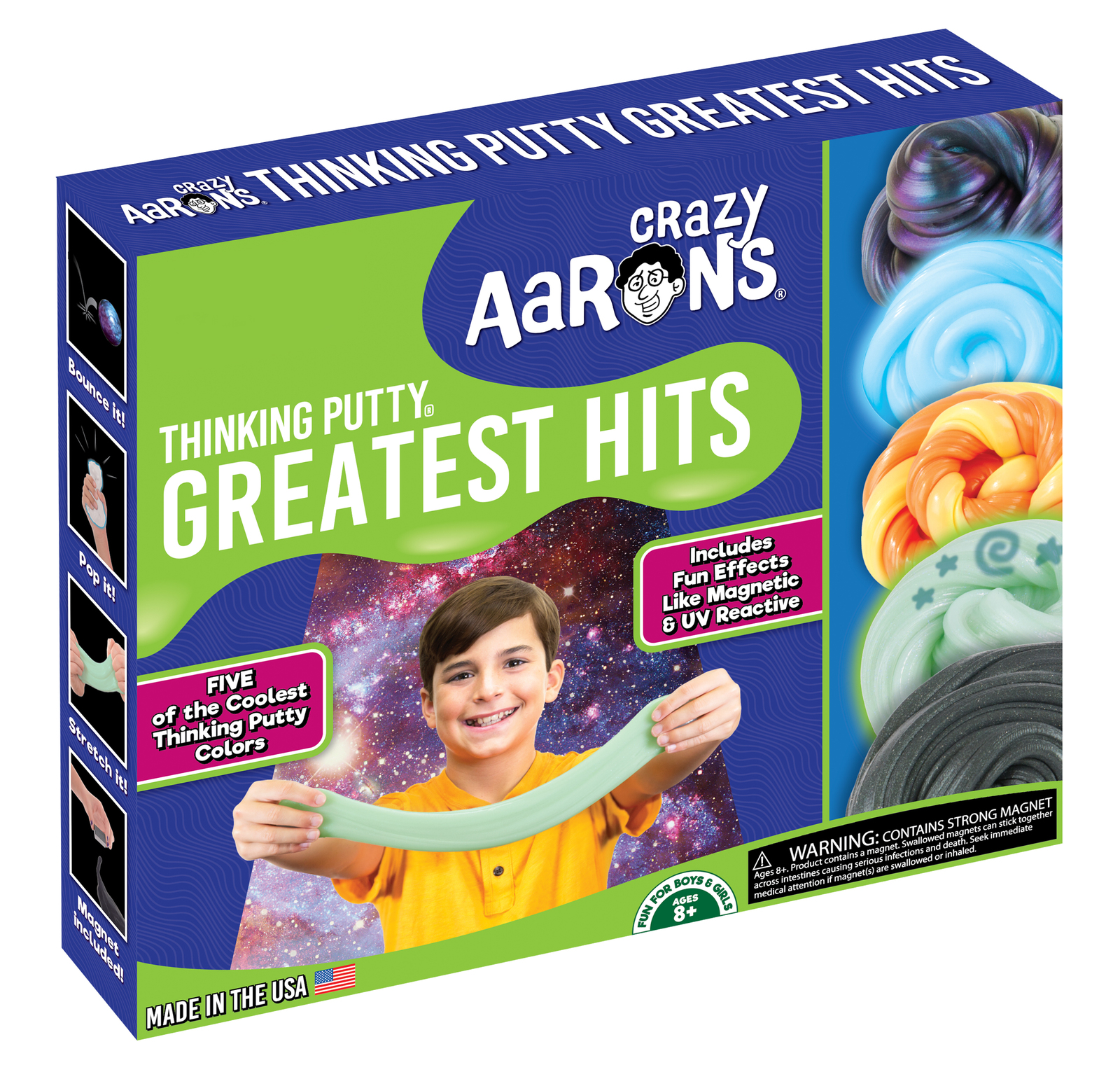 Crazy Aarons: Thinking Putty - Greatest Hits Box image