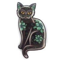 Jubly-Umph Midnight Tomcat Brooch image