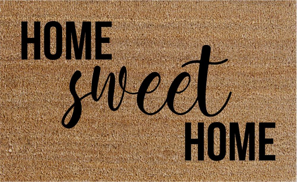 Natural Fibre Doormat - Home Sweet Home image