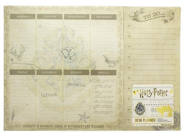 Harry Potter: A4 Weekly Planner - Desk Pad (Hogwarts)
