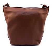 Urban Forest: Lotus Leather Handbag - Redwood